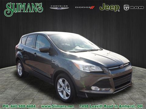 2016 Ford Escape for sale in Amherst, OH