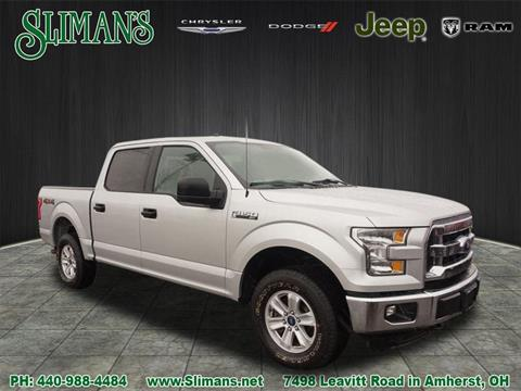 2016 Ford F-150 for sale in Amherst, OH