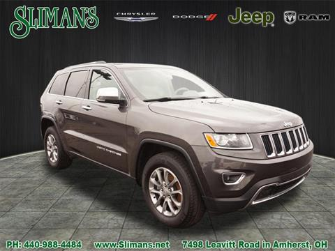2015 Jeep Grand Cherokee for sale in Amherst, OH