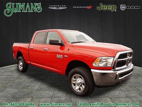 2016 RAM Ram Pickup 2500 for sale in Amherst, OH