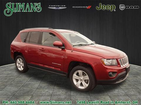2016 Jeep Compass for sale in Amherst, OH