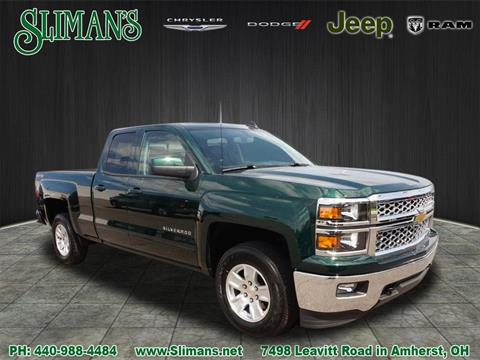 2015 Chevrolet Silverado 1500 for sale in Amherst, OH