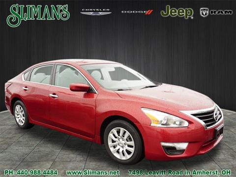 2015 Nissan Altima for sale in Amherst, OH