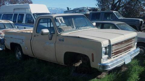 1977 Chevrolet C/K 10 Series for sale at Bowie Motors in Beaumont CA