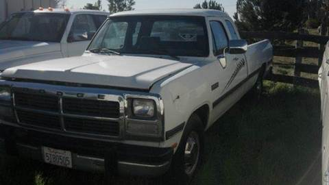 1993 Dodge RAM 250 for sale at Bowie Motors in Beaumont CA