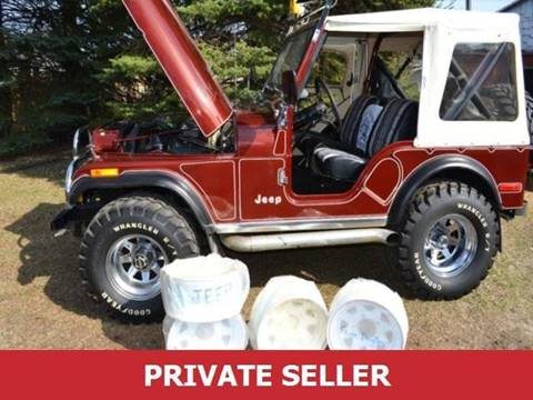 1979 Jeep CJ-5 for sale in Mount Dora, FL
