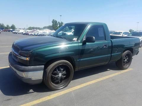 2005 Chevrolet Silverado 1500 for sale at Horne's Auto Sales in Richland WA