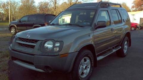 2004 Nissan Xterra for sale at Hern Motors - 2021 BROOKFIELD RD Lot in Hubbard OH
