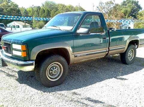 1998 GMC Sierra 2500 for sale at Hern Motors - 2021 BROOKFIELD RD Lot in Hubbard OH