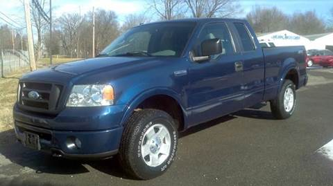 2007 Ford F-150 for sale at Hern Motors - 2021 BROOKFIELD RD Lot in Hubbard OH