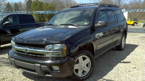 2002 Chevrolet TrailBlazer for sale at Hern Motors - 2021 BROOKFIELD RD Lot in Hubbard OH