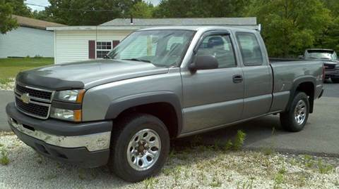 2006 Chevrolet Silverado 1500 for sale at Hern Motors - 2021 BROOKFIELD RD Lot in Hubbard OH