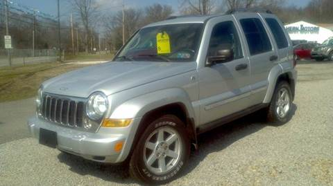 2006 Jeep Liberty for sale at Hern Motors - 2021 BROOKFIELD RD Lot in Hubbard OH