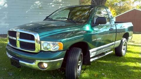 2004 Dodge Ram Pickup 1500 for sale at Hern Motors - 2021 BROOKFIELD RD Lot in Hubbard OH