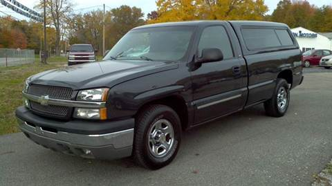 2004 Chevrolet Silverado 1500 for sale at Hern Motors - 2021 BROOKFIELD RD Lot in Hubbard OH