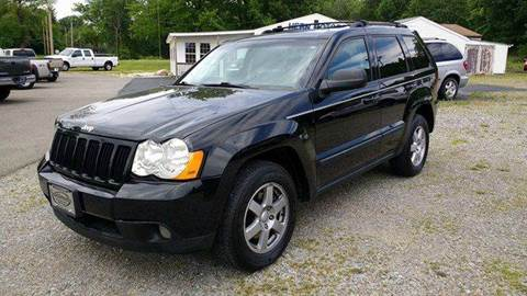 2008 Jeep Grand Cherokee for sale at Hern Motors - 2021 BROOKFIELD RD Lot in Hubbard OH