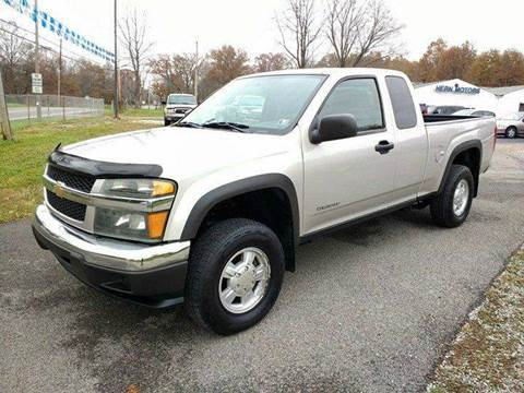 2005 Chevrolet Colorado for sale at Hern Motors - 2021 BROOKFIELD RD Lot in Hubbard OH