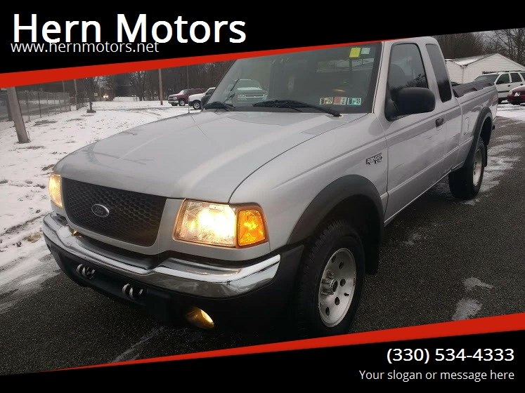 2002 Ford Ranger 4dr SuperCab XLT FX4 4WD SB In Hubbard OH
