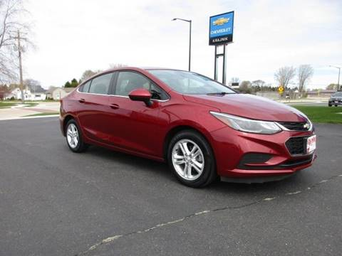 2017 Chevrolet Cruze for sale in Two Rivers, WI