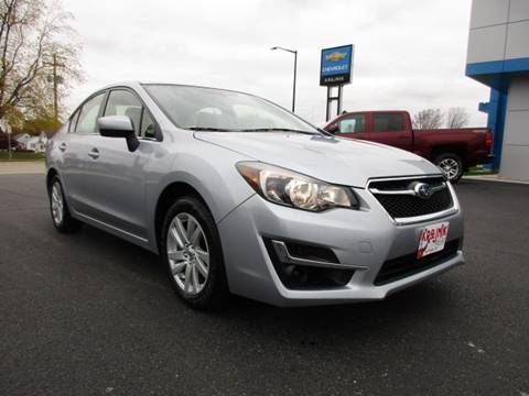 2015 Subaru Impreza for sale in Two Rivers, WI