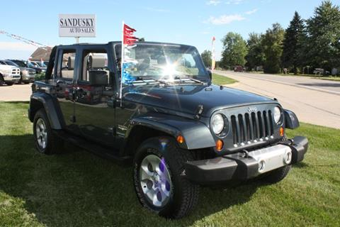 2008 Jeep Wrangler Unlimited for sale in Sandusky, MI