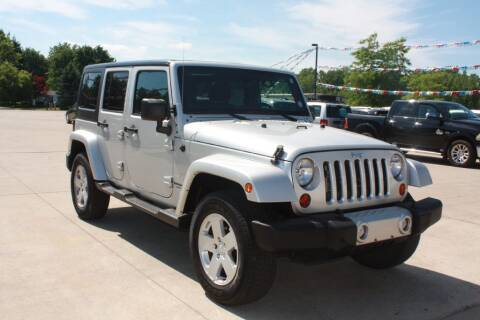2012 Jeep Wrangler Unlimited for sale at Sandusky Auto Sales in Sandusky MI