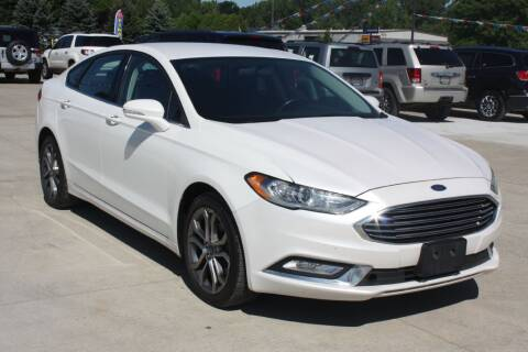 2017 Ford Fusion for sale at Sandusky Auto Sales in Sandusky MI