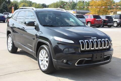 2014 Jeep Cherokee for sale at Sandusky Auto Sales in Sandusky MI