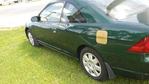2001 Honda Civic ex for sale at MOTOR VEHICLE MARKETING INC in Hollister FL