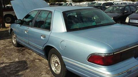 1997 Mercury Grand Marquis for sale at MOTOR VEHICLE MARKETING INC in Hollister FL