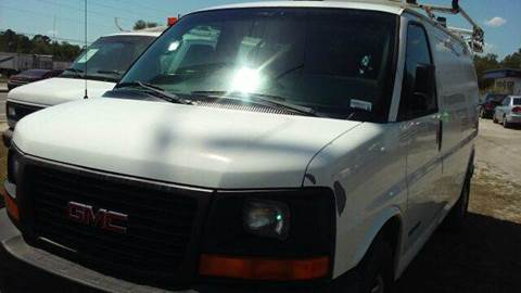 2005 GMC Savana Cargo for sale at MOTOR VEHICLE MARKETING INC in Hollister FL