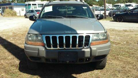2001 Jeep Grand Cherokee for sale at MOTOR VEHICLE MARKETING INC in Hollister FL