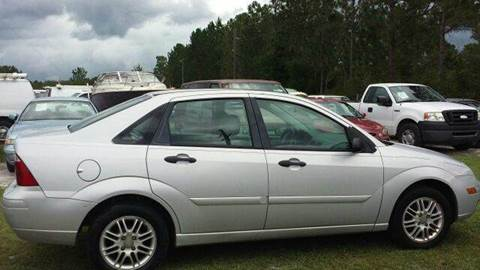 2007 Ford Focus for sale at MOTOR VEHICLE MARKETING INC in Hollister FL