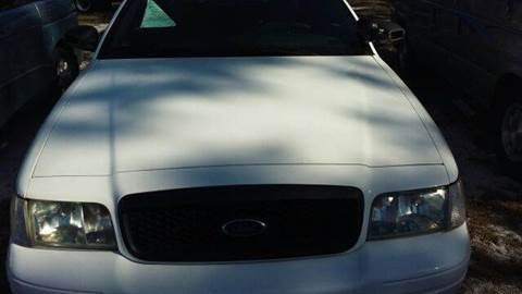 2004 Ford Crown Victoria for sale at MOTOR VEHICLE MARKETING INC in Hollister FL