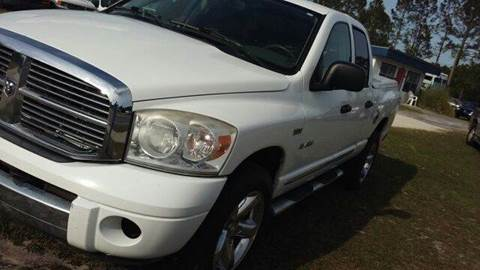 2008 Dodge Ram for sale at MOTOR VEHICLE MARKETING INC in Hollister FL