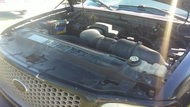 2003 Ford F-150 for sale at MOTOR VEHICLE MARKETING INC in Hollister FL