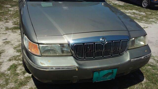 1998 Mercury Grand Marquis for sale at MOTOR VEHICLE MARKETING INC in Hollister FL