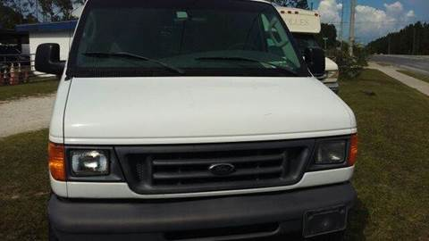 2007 Ford E-250 for sale at MOTOR VEHICLE MARKETING INC in Hollister FL