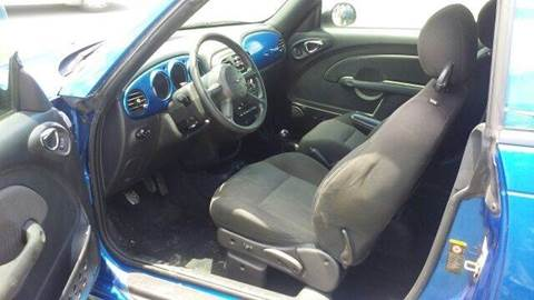 2005 Chrysler PT Cruiser for sale at MOTOR VEHICLE MARKETING INC in Hollister FL