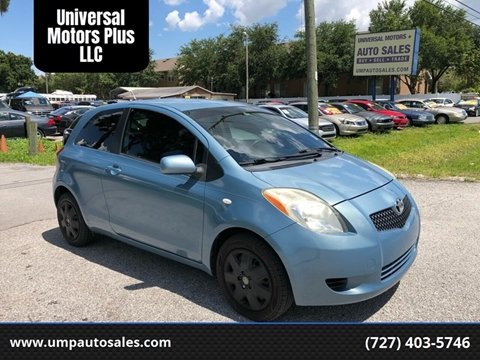 Toyota Yaris For Sale >> Used 2007 Toyota Yaris For Sale In Hawaii Carsforsale Com