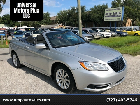 2011 Chrysler 200 Convertible for sale in Largo, FL