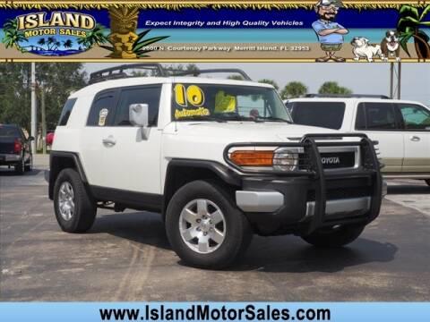 Toyota Merritt Island >> 2010 Toyota Fj Cruiser For Sale In Merritt Island Fl