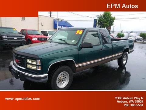 1996 GMC Sierra 2500 for sale in Auburn, WA