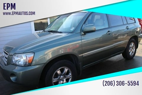 2006 Toyota Highlander for sale at EPM in Auburn WA
