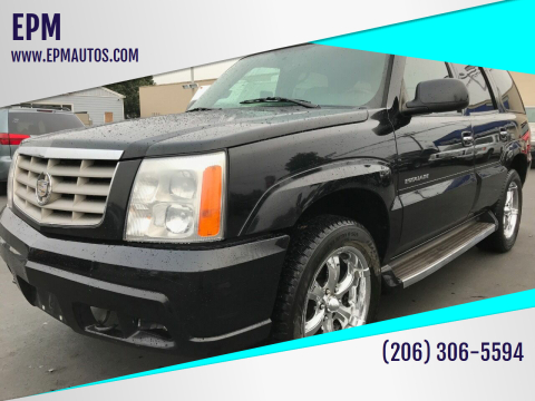 2005 Cadillac Escalade for sale at EPM in Auburn WA