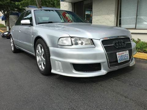2001 Audi S8 for sale at EPM in Auburn WA