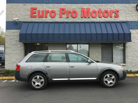 2004 Audi Allroad Quattro for sale at EPM in Auburn WA