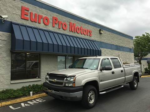 2004 Chevrolet Silverado 3500 for sale at EPM in Auburn WA