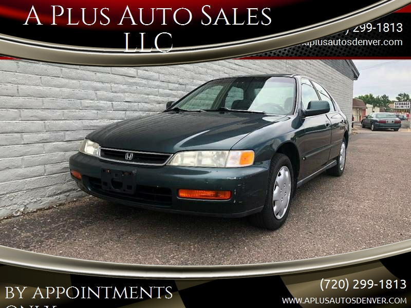 1997 Honda Accord LX 4dr Sedan   Denver CO