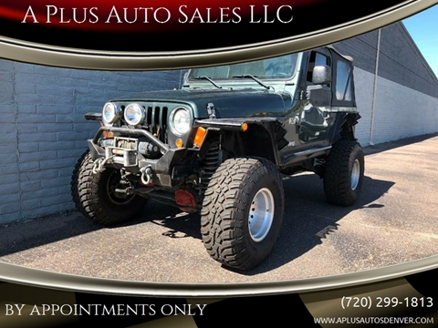 2003 Jeep Wrangler for sale in Denver, CO
